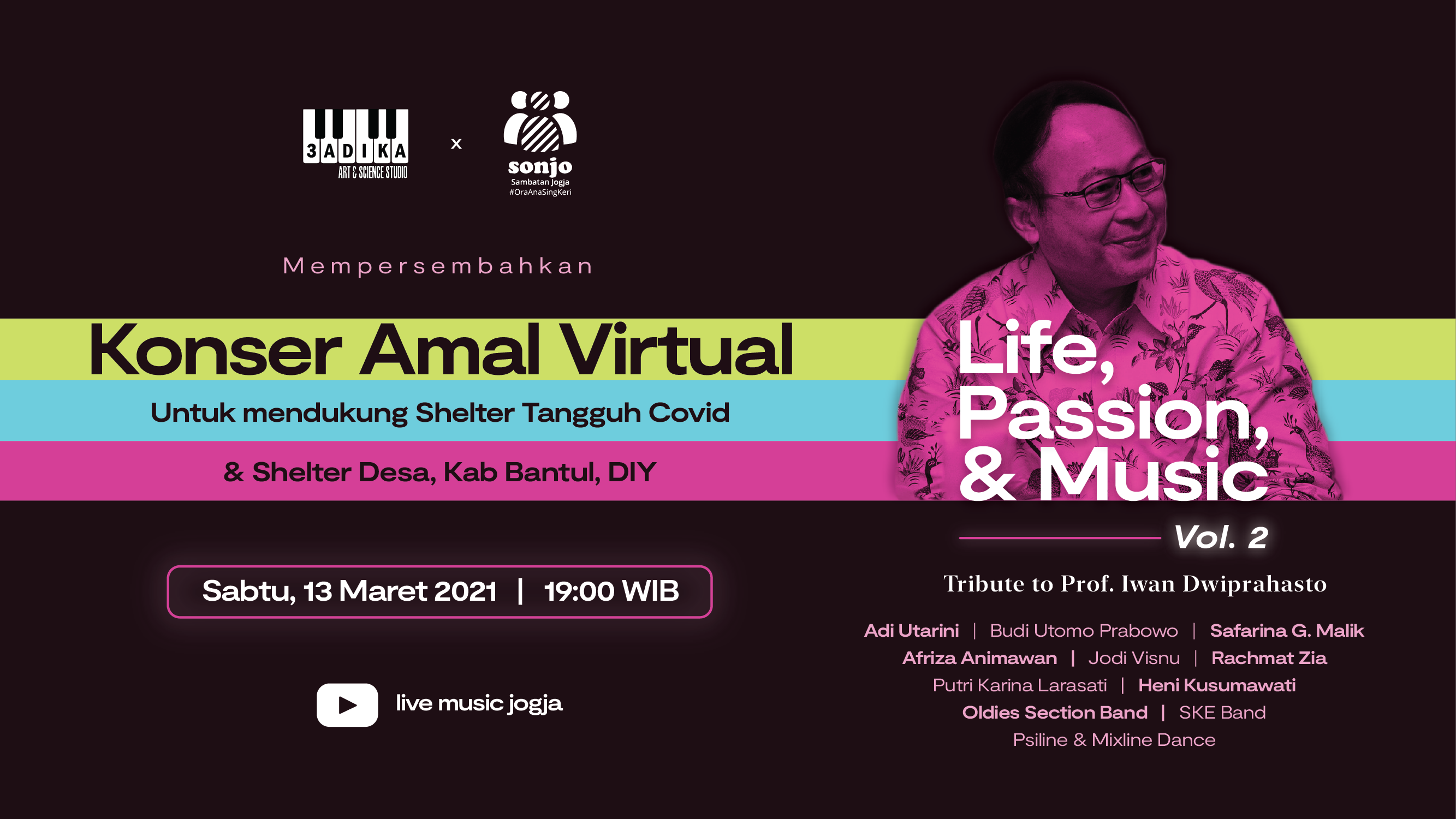 Banner Image Concert - Life Music & Passion vol2
